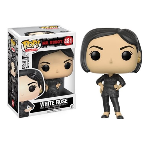 White Rose Funko POP TV Mr. Robot