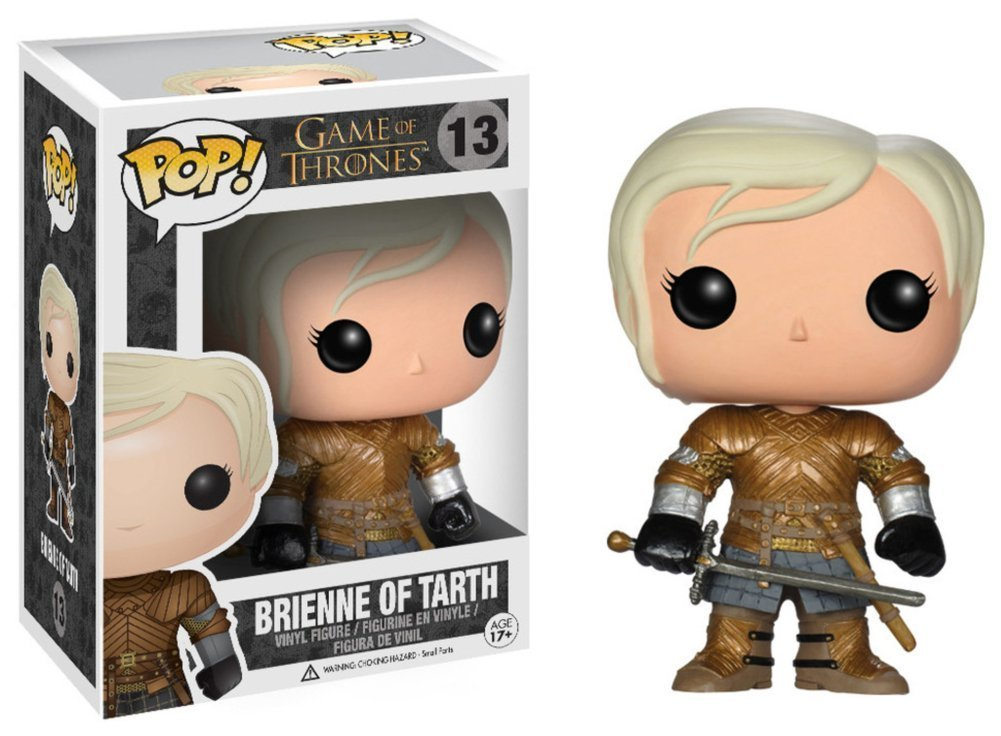 Game of Thrones - Brienne of Tarth POP TV Figure Toy 3 x 4in