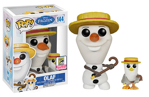Dancing Olaf
