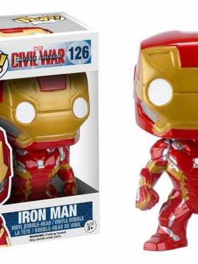 Funko POP Marvel: Captain America 3: Civil War Action Figure - Iron Man