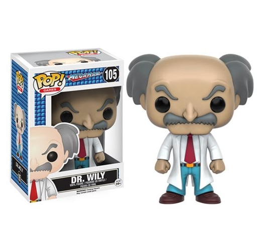 Dr Wily Funko POP! Games Megaman
