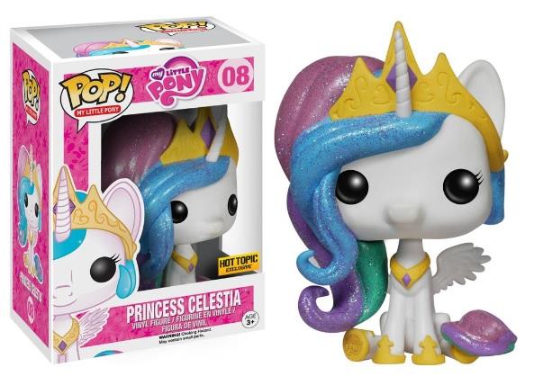 Glitter Princess Celstia (HOT TOPIC)