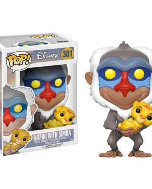 Rafiki w/ Baby Simba Funko POP! Disney The Lion King