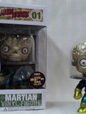 """Metallic"" Martian [SDCC 212]"