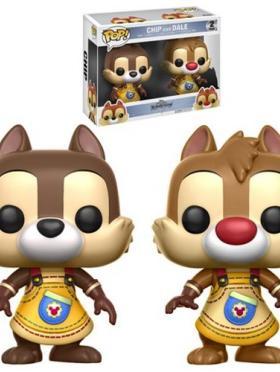 Chip & Dale 2-Pack Funko POP! Games Kingdom Hearts
