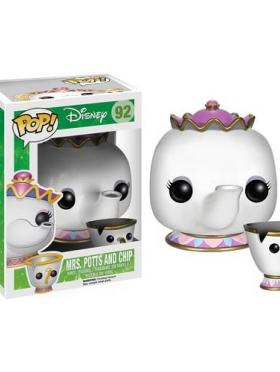 Mrs Potts and Chip Funko POP Disney La Bella y la Bestia
